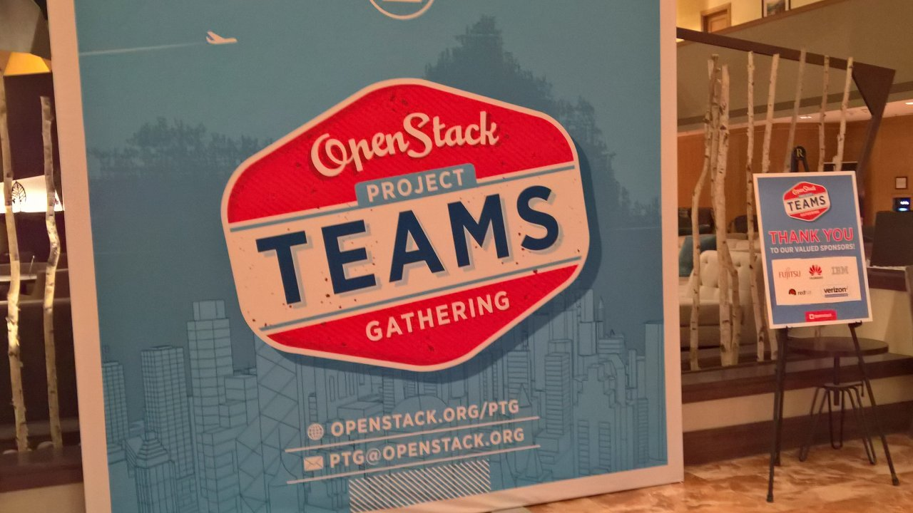 OpenStack Project Teams Gathering (PTG) Denver